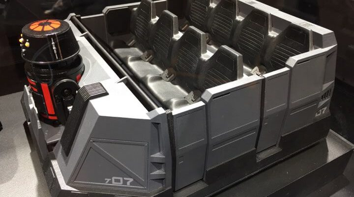 First Order Ride Vehicle