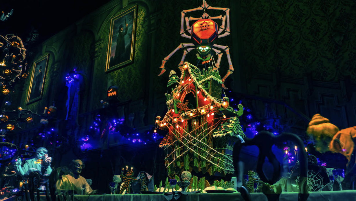 Haunted Mansion Gingerbread