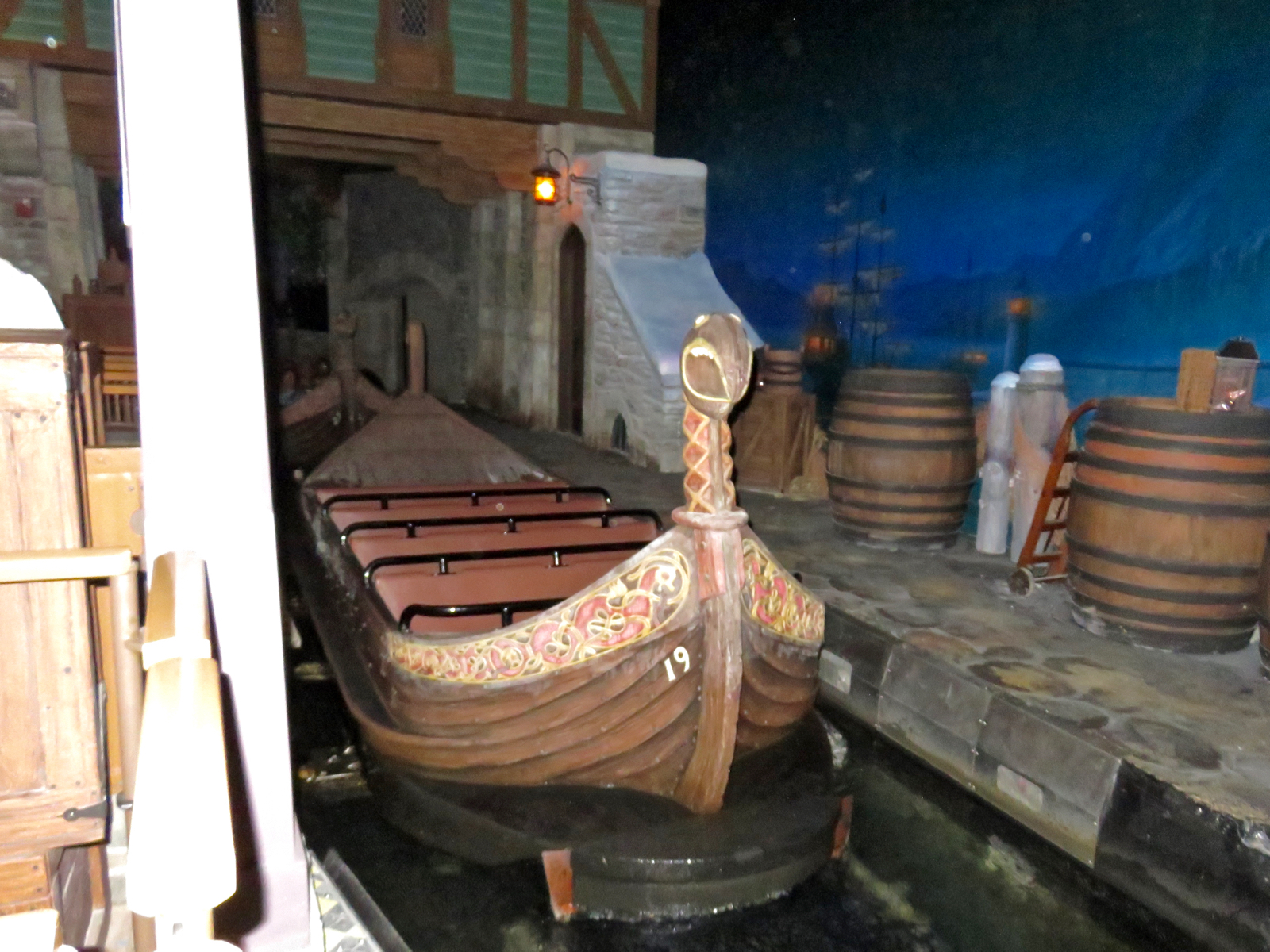 Frozen Ever After Boat