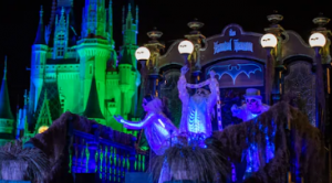 Haunted Mansion Float from Boo To You Halloween Parade