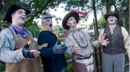 Cadaver Dans at Mickey's Not So Scary Halloween Party