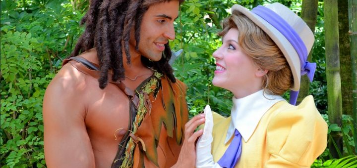 Tarzan and Jane Disney World