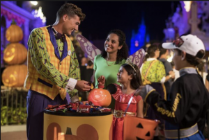Trick-or-Treating at Mickey's Not So Scary Halloween Party