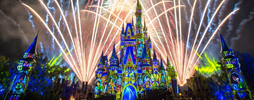 New Year at Disney World