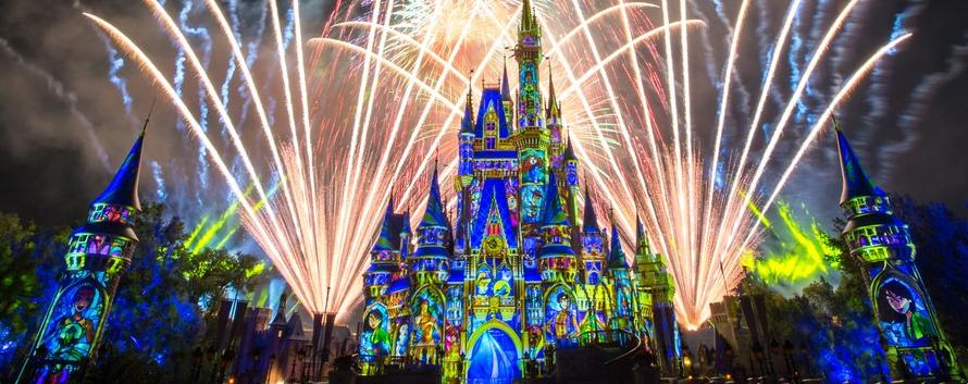 New Year at Disney World