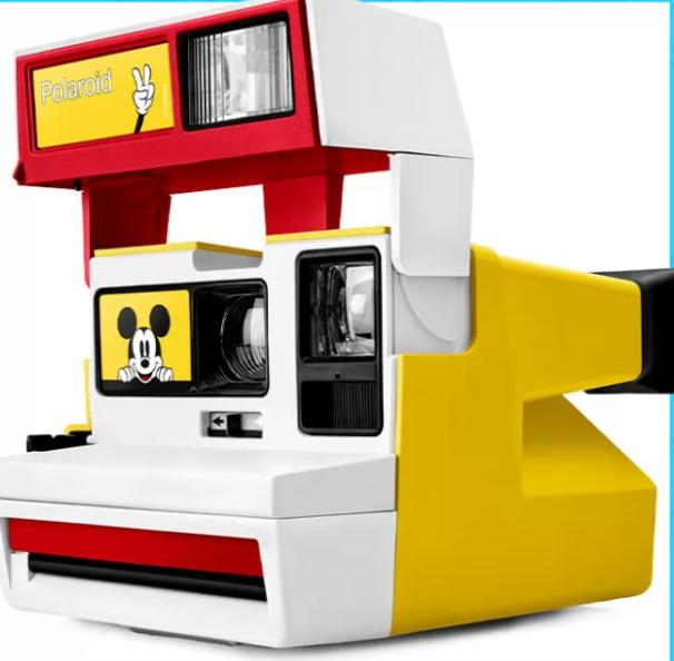 Mickey Mouse Polaroid Camera