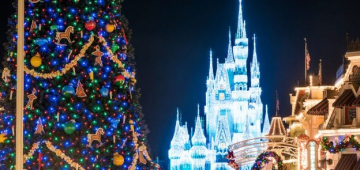 see the magic kingdom transform from halloween to the holidays overnight - Disney World Magic Kingdom Christmas Decorations