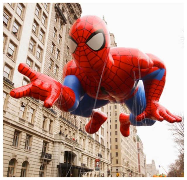 Spiderman Thanksgiving Parade