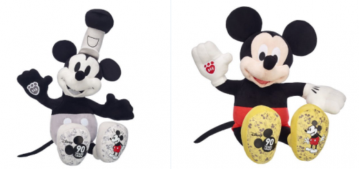 Mickey 90th anniversary plushes