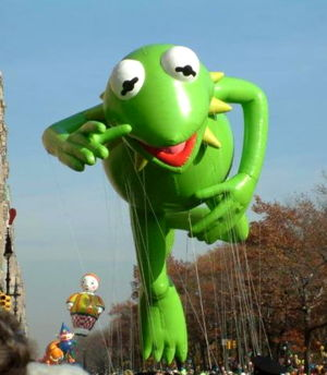 Kermit the Frog Thanksgiving Parade