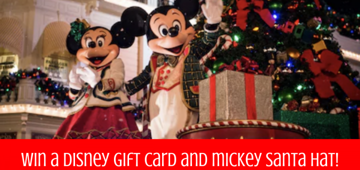 Disney Holiday Prize Pack Giveaway