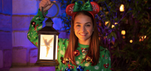 Disney PhotoPass Christmas Party Magic Shots
