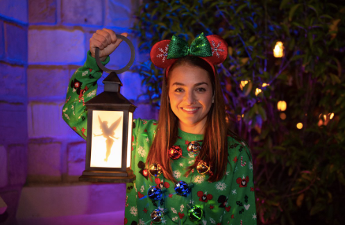 Disney PhotoPass Christmas Party Magic Shots