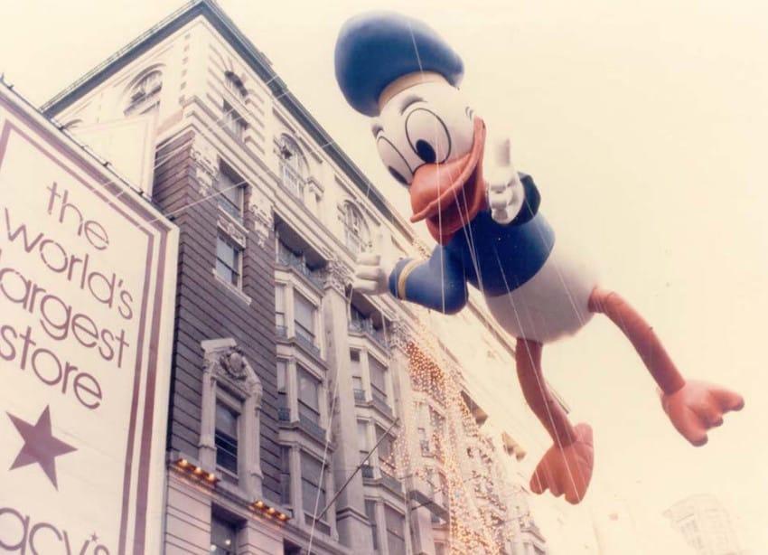 Donald Duck Thanksgiving