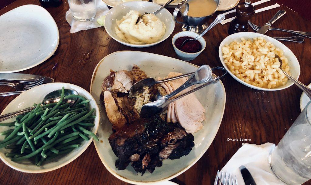 Thanksgiving dinner at Disney