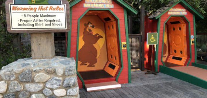 Humphrey the Bear Warming Huts
