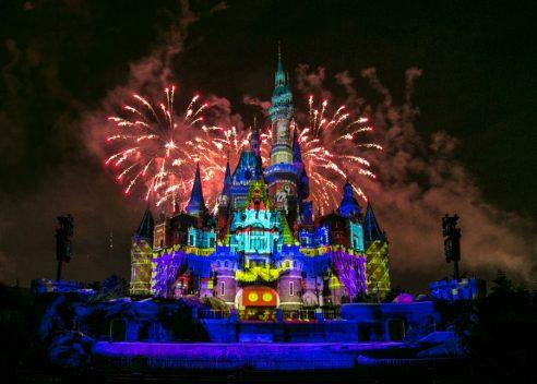 Celebrating Mickey's birthday