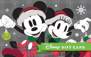 Mickey Minnie Gift Card
