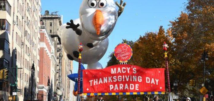 Disney at Macy's Thanksgiving Day Parade