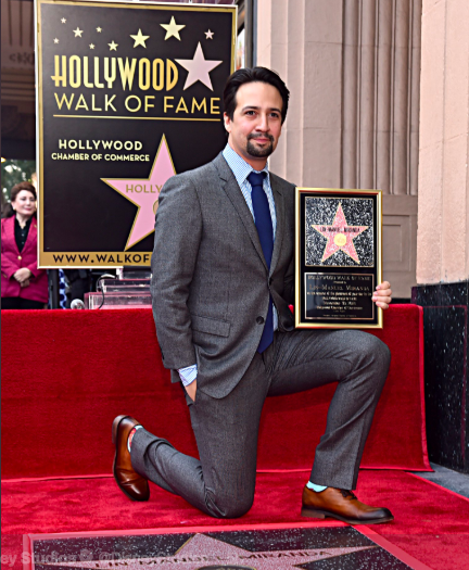 Lin-Manuel Miranda Gets Star on Hollywood Walk of Fame
