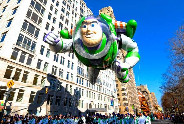 Buzz Lightyear Thanksgiving parade