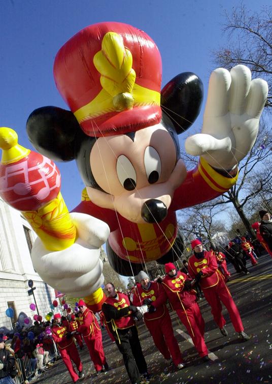 Mickey Thanksgiving Day Parade