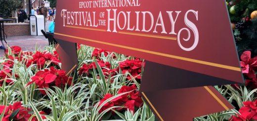 EPCOT festival holidays