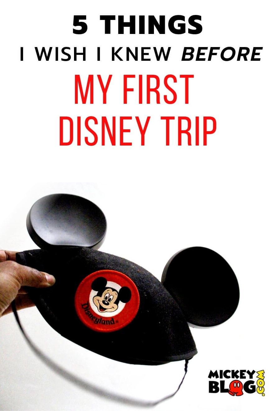 5 things I wish I knew before my first Disney trip