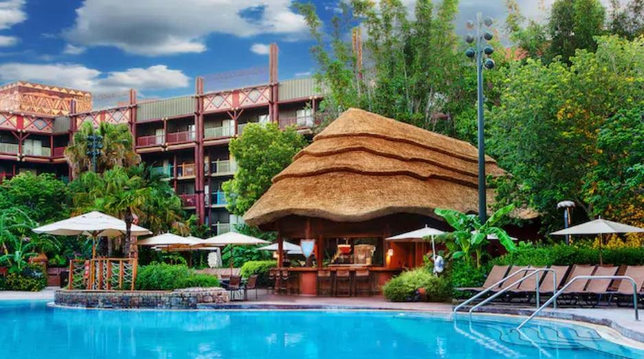 Animal Kingdom Lodge pools