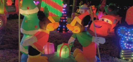 Christmas Light Fight