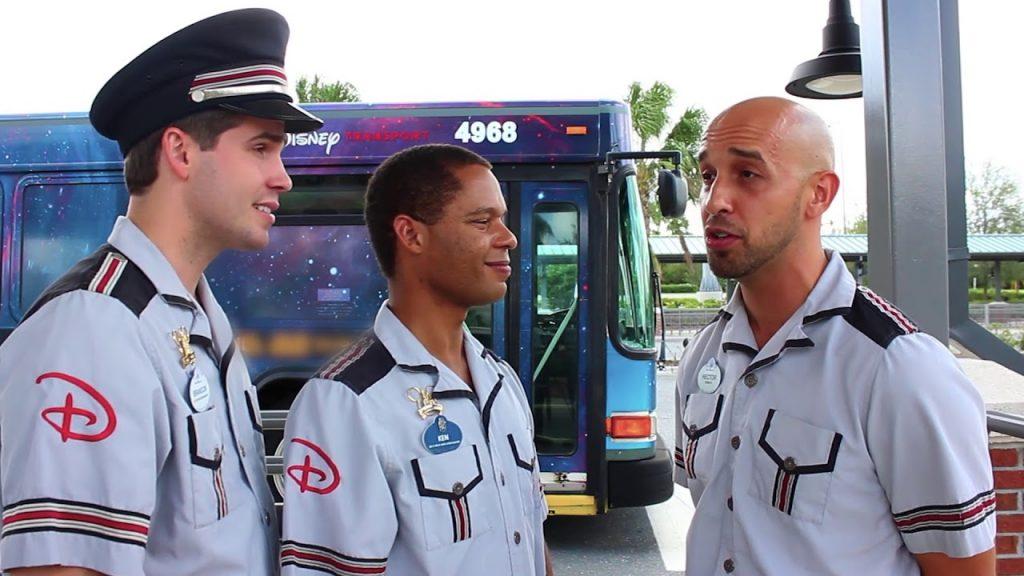 Disney bus drivers