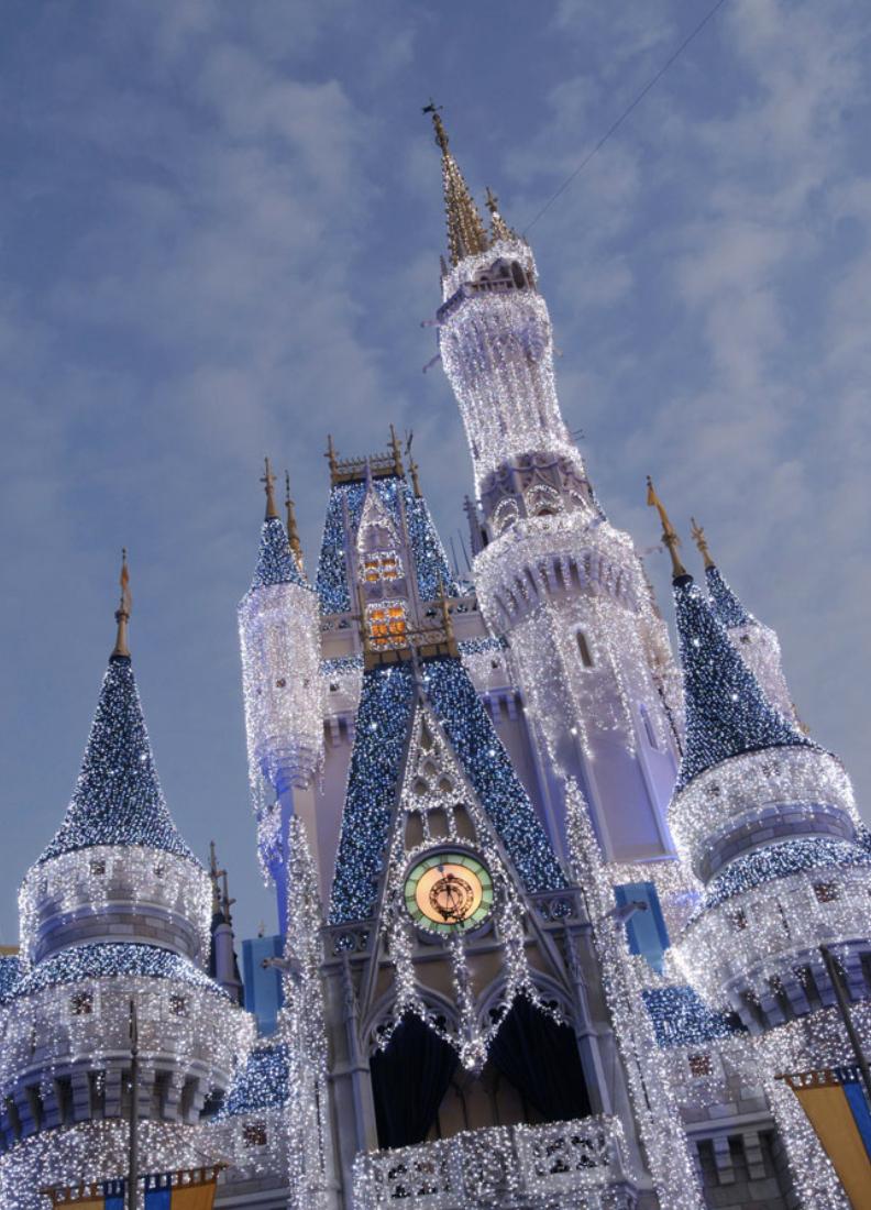Disney Parks Magical Christmas Parade