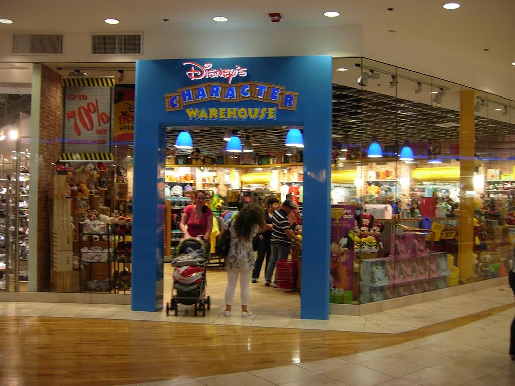 Disney character warehouse