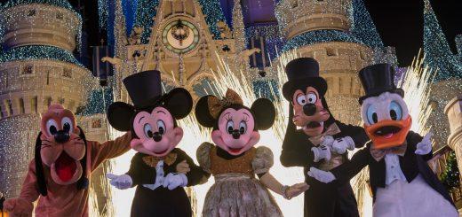 New Year's Walt Disney World