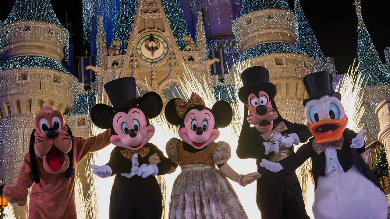Disney New Year's Eve