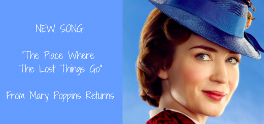 The Place Where The Lost Things Go from Mary Poppins Returns