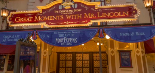 Mary Poppins Returns Memorabilia