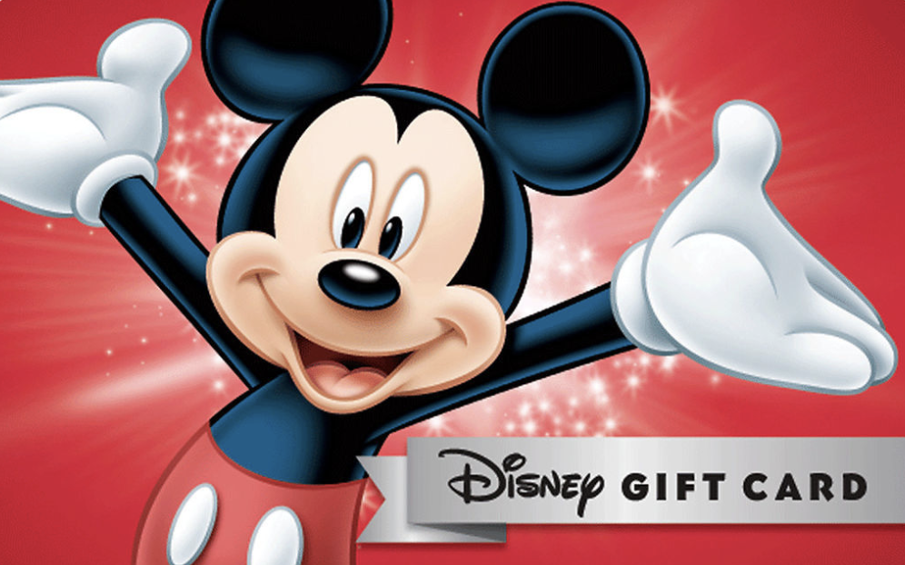 Disney Giving Away $50 Gift Cards