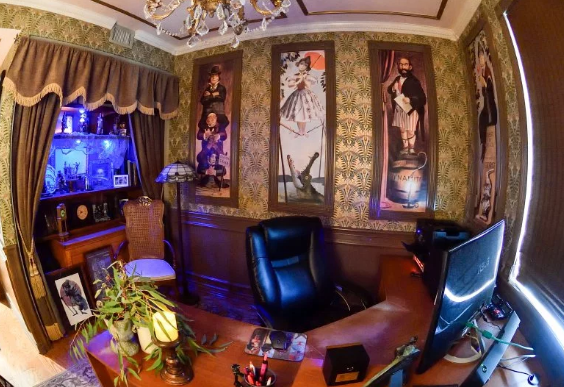 Haunted Mansion office