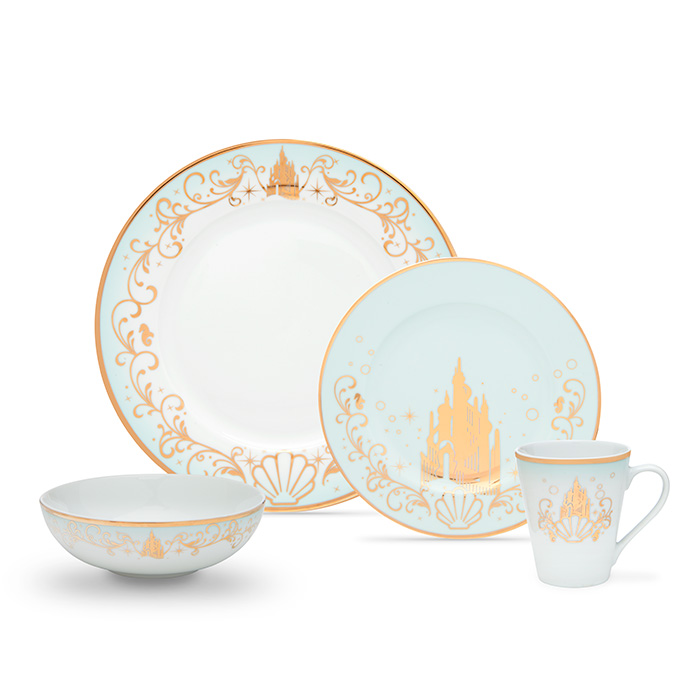 Little Mermaid Dining Set