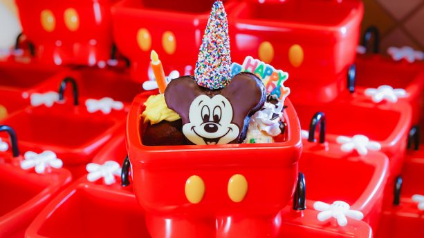 Mickey and Minnie Ice Cream