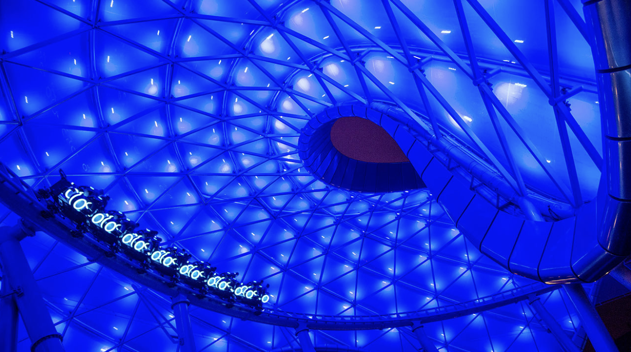 Construction Update for new Tron Attraction