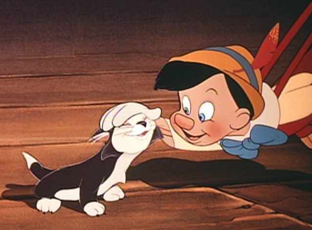 Pinnochio and Figaro