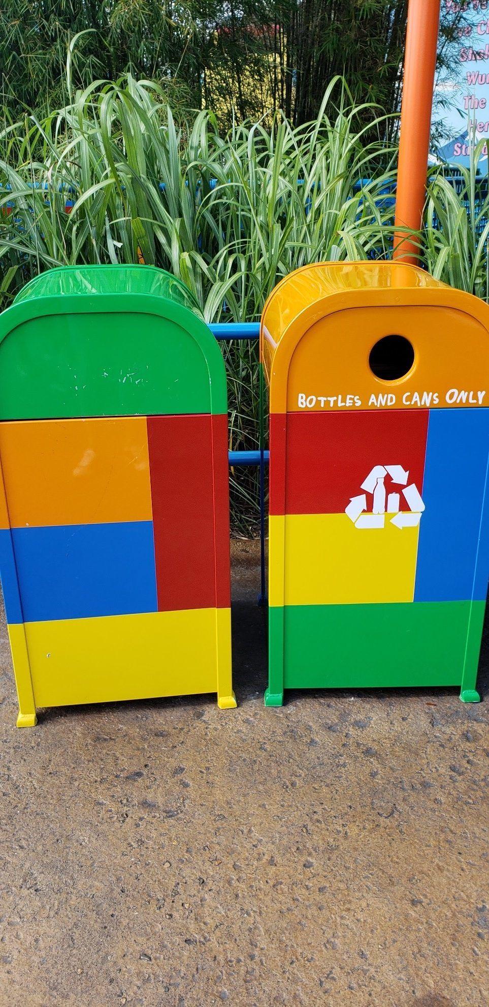 Trash Cans of Disney World