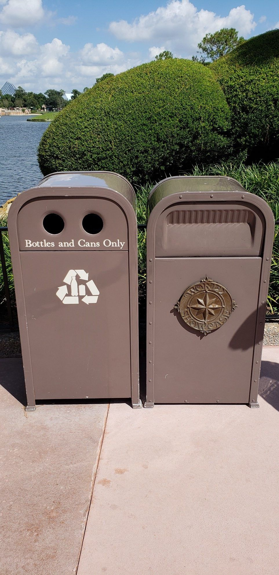Trash Cans of Disney