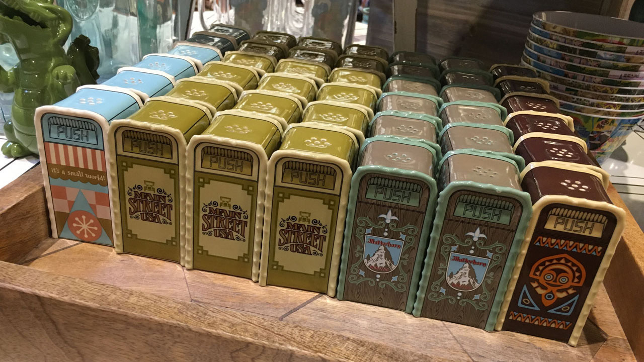 Disney World Salt Shakers