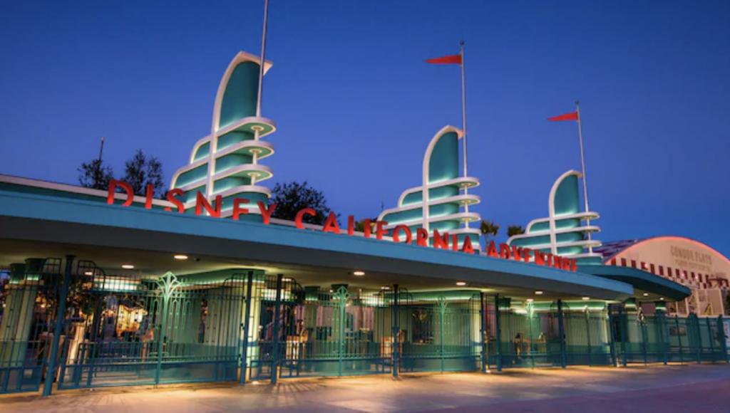 Captain Marvel arrives, Disneyland Resort