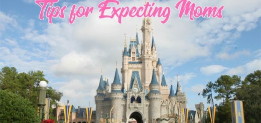 Expecting moms at Disney