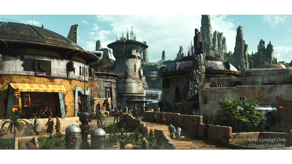 reservations for Star Wars: Galaxy's Edge