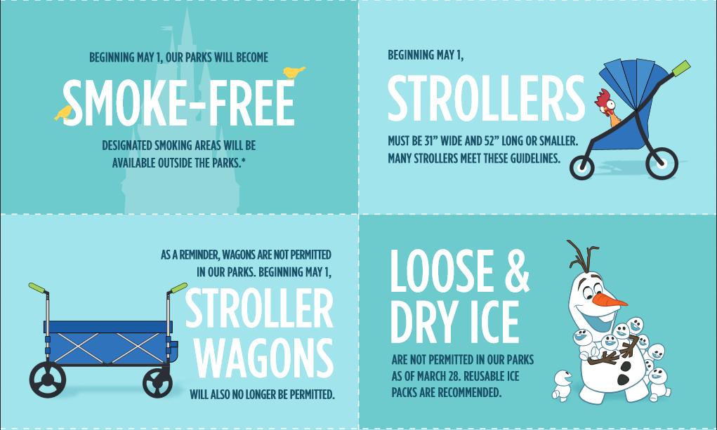 Ban Stroller Wagons and Smoking